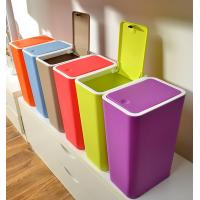 Buy cheap Creative home kitchen bathroom press dust waste litter garbage storage box trash can rubbi product