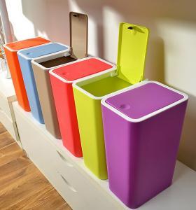Buy cheap Rubbi casero creativo del bote de basura de la caja de almacenamiento de la basura de la litera de la basura del polvo de la prensa del cuarto de baño de la cocina product