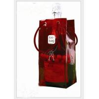 Buy cheap Clear PVC Wine Bags, Plastic Ice Bag, PVC Bag for Wine Packing product