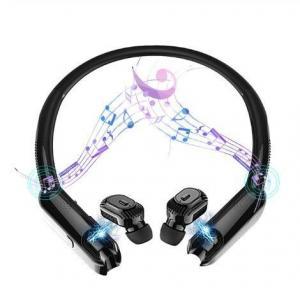 China  Tws Bluetooth Earphones Sport HiFi Wireless Headphones Noise Cancelling Game Headset (including Portable Neck Radio)          on sale
