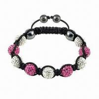 Buy cheap Shamballa Bracelet, OEM Orders are Welcome product