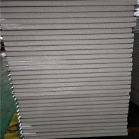 China 0.326mm steel sheet 50mm insulated eps sandwich panel 11900x1150mm for worker camp on sale