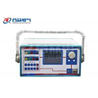 Buy cheap Three / Six Phase Secondary Injection Protection Relay Electrical Test Equipment product
