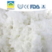 China Bleached 100% Cotton Raw Material , First Aid Organic Cotton Material on sale