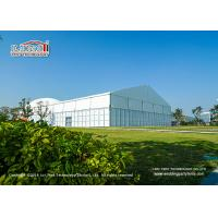 Buy cheap 15x40m 400 Seaters Aluminum Luxury Wedding Tents With Glass Walls Decoration product