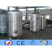 Buy cheap Milk Stainless Steel Pressure Vessel Storage For  Bioligy Health Tank product