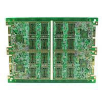 Buy cheap Rigid Multilayer PCB , High Density 8 Layer Immersion Gold PCB Automatic Control Circuit Design product