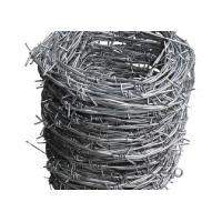 Buy cheap 12x14 Hot Dipped Galvanized Barbed Wire Coil,  Security  Mesh Fence product