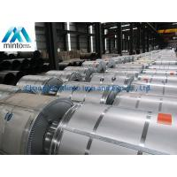 Buy cheap Hot Dipped Aluminium Zinc Coated Steel Cold Rolled Coil Steel Mini Spangle product