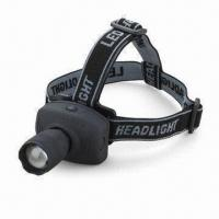 Buy cheap 1W LED headlight with 30m lighting range product