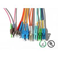 Buy cheap Yellow Jacket Fiber Optic Patch Cord 10m For Test Equipment / CATV product