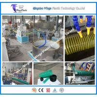 Buy cheap PVC Spiral Hose Pipe Extruder Machine / PVC Suction Pipe Making Machine product