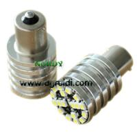Buy cheap AUDI canbus 1156 18smd3528 8W Error Free LED Bulbs high bright chromed cylinder from wholesalers