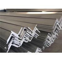 China Pickled Surface 316 316L Metal Angle Bar , 6m 5.8m Structural Steel Angle Bar on sale