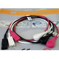 Buy cheap 1M Length Patient Monitor Accessories , Monitor Connector Cable Solid Conductor product