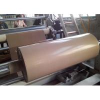 Buy cheap Plain Woven PTFE Coated Fiberglass Fabric Brown Color Easy To Clean product
