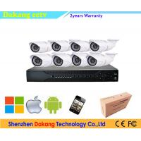 China Outdoor P2P 8CH 1080P CCTV Security Systems Combo POE NVR Kit on sale