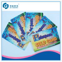 Buy cheap PVC Plastic Business Card Printing , Full Color PVC Membership Card product