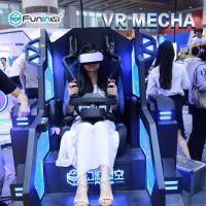 Buy cheap Virtual Reality Headset 360 Degree Rotating Shooting Simulator For Entertainment product
