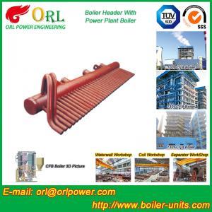 Buy cheap High Pressure CFB Boiler Header Steam Boiler Header with ASME product
