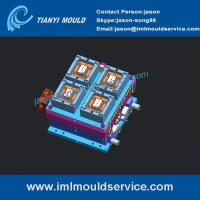 Buy cheap 250g rectangular container mould ,thin wall rectangular sauce containers mould designer product