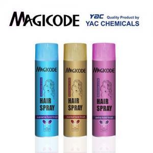 Buy cheap Aerosol Hair Spray 265ml with Fresh Fragrance for Refresh the Damaged Hair product