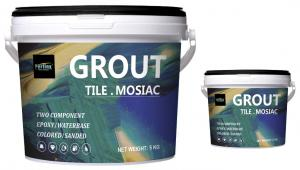 Buy cheap Gorgeous Colors Epoxy Mortar Grout Two Component For Mosaic Tile product