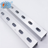 Buy cheap galvanized steel slotted channel steel sloted channel,unistrut channel from wholesalers