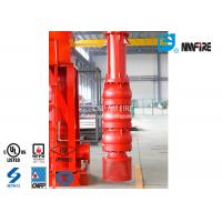 Buy cheap 500 Usgpm Vertical Turbine Fire Pump Installation Easy With Carbon Steel Column Pipe product