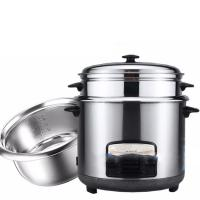 China Hot sale 6L 1000W electric rice cooker pot stainless steel on sale