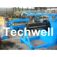 Buy cheap Q235 / Q350 0.2 - 2.0mm Carbon Steel, Color Steel Simple Slitting Cutting Machine Line product