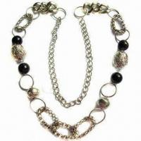 Buy cheap Fashionable Necklace with Various Beads and Rings product