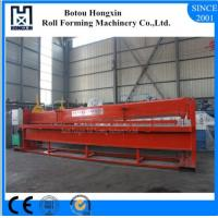 Buy cheap Reliable Hydraulic Shearing Machine For Roofing Cutting 4m Raw Material Width product