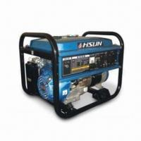 Buy cheap Gasoline Four-stroke Generator with Rated Output Power of 2.0kW and 0.6L Fuel Consumption product