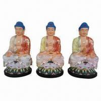 Buy cheap Religious Statues, Available in Resin Buddhas, with Light Color product