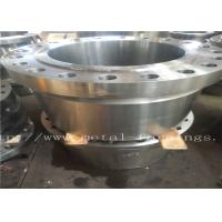 "Buy cheap Carbon Steel Flange  Forgings Q + T Heat Treatment PN250 Class1500 WN RTJDN100  NPS4"" DN150 NPS6"" DN300 product"