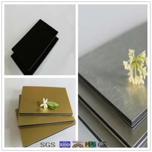 Buy cheap Soncap certificate granite-colored aluminium composite panel product