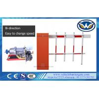 Buy cheap 2 Fence Vehicle Security Barriers Access Control / Roadway Traffic Gate 80w Motor product