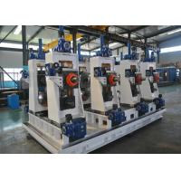 Buy cheap Automatic Welded Pipe Production Line / Steel Pipe Making Machine product