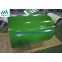 Buy cheap Zinc Aluminium Color Coated Steel Coil JIS G3302 JIS G3312 ASTM A653M A924M 1998 product