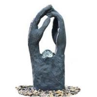 Buy cheap Modern Garden Fountains / Decorative Indoor Water Fountains In 2 Hands Shape product