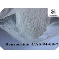 Quality Topical Pain Relief Powder Benzocaine Base / Benzocaine CAS 94-09-7 for sale