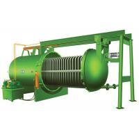 Buy cheap Carbon Steel Horizontal Plate Pressure Filter , Plate Type Filter For Oil Bleaching product