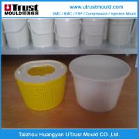Buy cheap Plastic injection mould  high quality customized plastic paint bucket mould 20L product