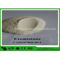Buy cheap USP Aromasin Anti Estrogen Steroids Powder ,  Exemestan CAS 107868-30-4 product