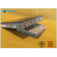 China Transparent Glass Backed Composite Stone Wall Board , Thin Stone Veneer Panels on sale