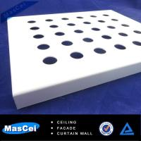 Buy cheap Black Acoustical Ceiling Tiles and Aluminum Perforated Metal product