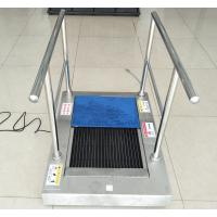 China Stainless Steel Auto Shoe Sole Cleaner / Sole Cleaning Machine Wet Clean Type on sale