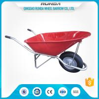 Buy cheap Construction Heavy Duty Wheelbarrow WB8900 Pneumatic Wheel 16x4.00-8 180kgs Load product
