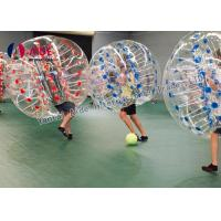 Buy cheap Indoor Sport Game Hamster Ball For Kids , Inflatable Soccer Bubble Ball product